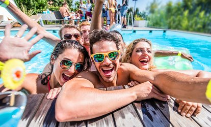 Up to 90% Off Las Vegas Pools Access Pass from Fun Factory