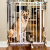 Carlson Pet Gate with Small Pet Door