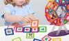 66-Piece Magnetic Building Tiles Educational Set