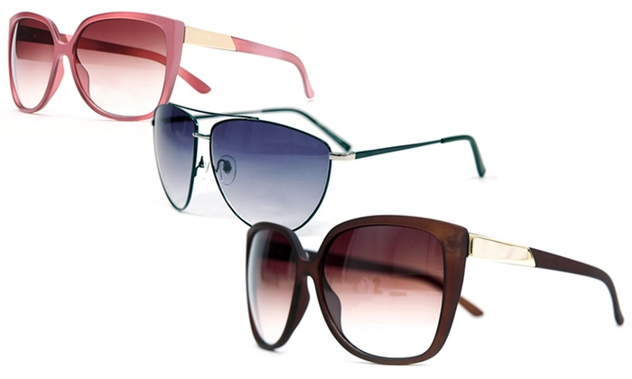 MMK by Dasein Round Collection Sunglasses