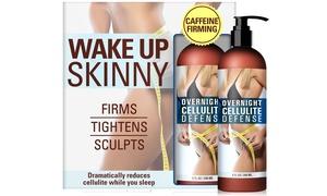 Wake Up Skinny Overnight Cellulite Defense Treatment (1- or 2-Pack) at Wake Up Skinny Overnight Cellulite Defense Treatment (1- or 2-Pack), plus 6.0% Cash Back from Ebates.