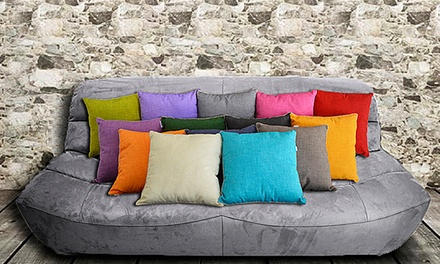 Cuscini arredo multicolor disponibili in vari colori