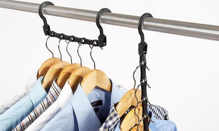 Space Saving Closet Hanger For Bedroom Organization 10 Pack