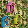 Natural Bee Habitat Houses (Set of 3)