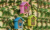 Natural Bee Habitat Houses (Set of 3): Natural Bee Habitat Houses (Set of 3)