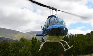 Whizzard Helicopters: Helicopter Buzz Flight for One or Two from Whizzard Helicopters, Three Locations (Up to 46% Off)