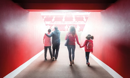 Liverpool Stadium Tour: Child, Student, Senior or Adult Ticket, 17 February - 15 May 2018 (Up to 25% Off)