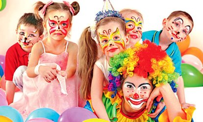 image for Two-Hour Birthday Package for Up to 30 Kids with Amal Events (Up to 67% Off)