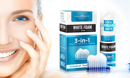 One or Three Stella White TeethWhitening Foams