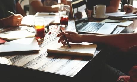 1 o 3 meses de clases de inglés impartidas en bares por profesores titulados en grupos de 4 desde 29 € con Oxbridge Oferta en Groupon