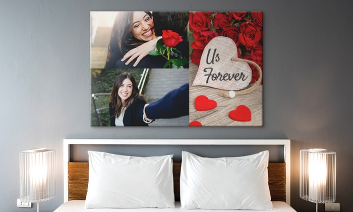 CanvasOnSale: One or Two Custom XXXL Canvas Prints with Optional Shipping from CanvasOnSale (Up to 89% Off)