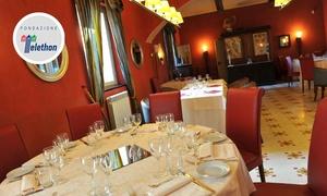 Residenza d'Epoca Locanda del Cigno Nero: Menu gourmet alla gran carte in 4 portate di terra e mare alla Locanda del Cigno Nero (sconto fino a 58%)