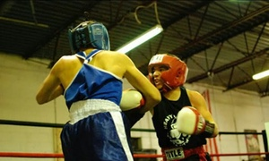 Heavy Hitters Boxing: Up to 72% Off MMA, Kids' Boxing, or Womens' Boot-Camp Classes at Heavy Hitters. 4 Options Available.