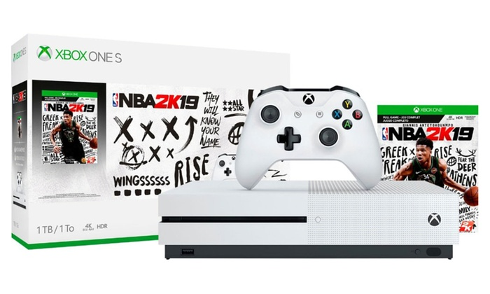 Xbox One S 1TB Game Console with