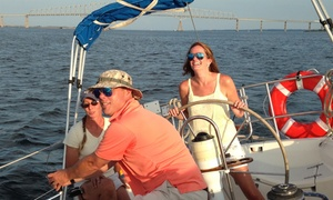 SeaAffinity, Inc: Introduction to Sailing Lesson for One, Two, or Four at SeaAffinity, Inc (Up to 54% Off)
