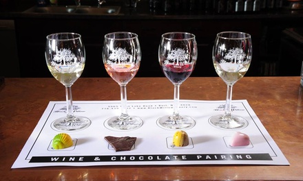 $29 for a Wine and Chocolate Pairing for Two at Black Willow Winery ($50 Value)