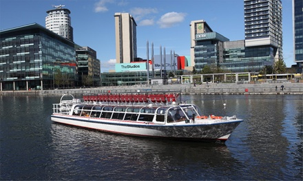 Halloween Half-Term Cruise for One Child, Adult or Family of Four with Manchester River Cruises (Up to 45% Off)