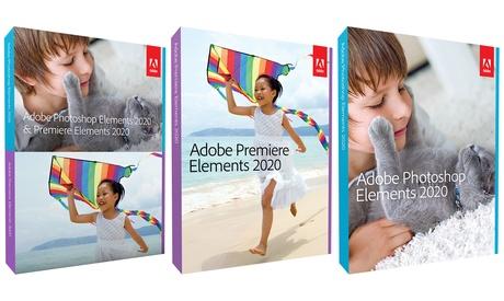 Adobe Photoshop Elements 2020 y/o Adobe Premiere Elements 2020 para descargar para Windows o Mac