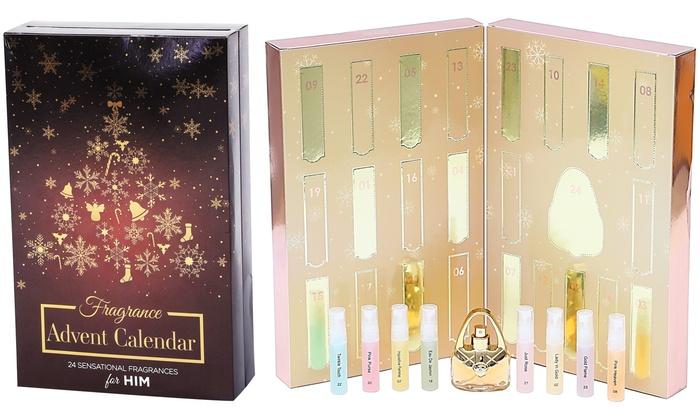 Calendrier Avent Parfum.Calendrier De L Avent Parfums Groupon