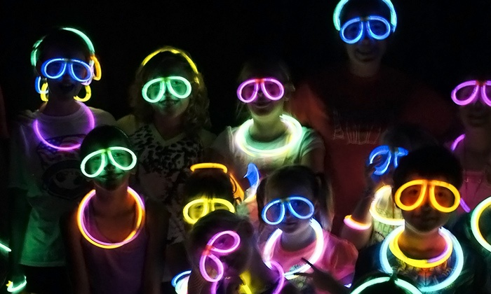 Color Blast 5k LLC - Arlington Heights : Entry to the Color Blast 5K Glo Run for One or Two (Up to 54% Off)