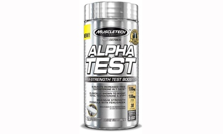 Pro Series AlphaTest Testosterone Supplement (120-Count)