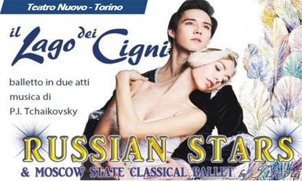 Il Lago dei Cigni: Russian Stars in scena al Teatro Nuovo di Torino, dal 30 novembre al 2 dicembre (sconto fino a 33%)