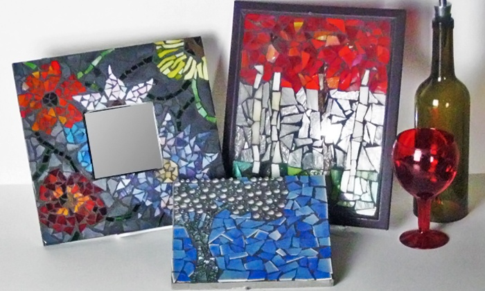 BonTon Designs - Minneapolis: One, Two, or Four Groupons, Each Good for a BYOB Mosaic Class at BonTon Designs (Up to 65% Off)