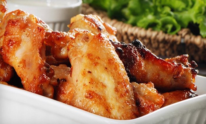 Little Town - Manhattan: Barbecue Platter with Drinks for Two or Four at Little Town (65% Off)