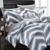 Chic Home Chevron Reversible Comforter Set (8- or 10-Piece)