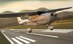 IBEX: Lot widokowy nad Warszawą samolotem Cessna dla 1 osoby (od 139,99 zł) lub dla 2 osób (od 399,99 zł) z firmą IBEX