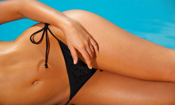 Celebrity Tanning - Multiple Locations: One Month of Unlimited UV Tanning or Two HD Mystic Spray-Tan Sessions at Celebrity Tanning (Up to 45% Off)