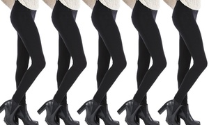 (Mode) Lot de leggings polaires noirs -27% réduction
