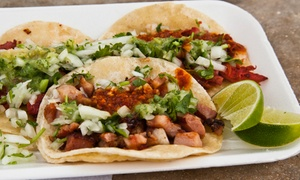 Tacos and Beer: $10 for $20 Worth of Mexican Fare at Tacos and Beer