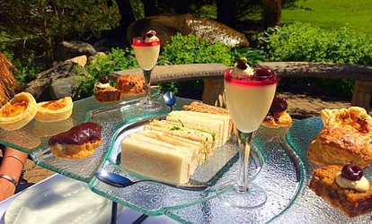image for Sparkling Afternoon Tea with Spa Access at Foxfields Country Hotel