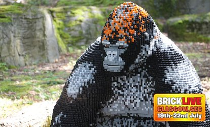 BrickLive - Glasgow: General Admission or Priority Ticket, 19 - 22 July, SEC Glasgow (Up to 30% Off)