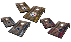Wild Sports NFL Barn Wood Series 2x3' Tailgate Toss