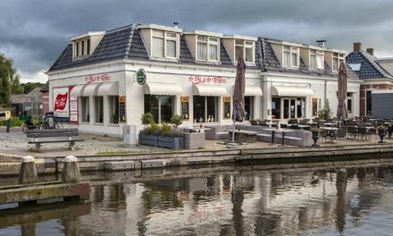 Drie of viergangen keuzemenu bij de Kok & de Walvis in Warten nabij Leeuwarden vanaf 2 pers.