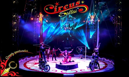 Circus Sallai Simply Spectacular 2020, Best Available Ticket, 9 18 April 2020, Two Locations
