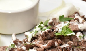 Il Cedro Ristorante Libanese: Menu libanese con bibita e dolce fino a 8 persone al ristorante il Cedro (sconto fino a 70%)