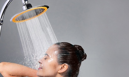 One or Two 15cm Multi-functional Shower Heads