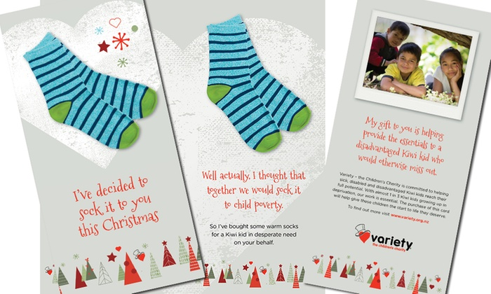 Variety Give a Gift Christmas Donation   Groupon Goods