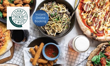 $24 or $49 to Spend on Food and Drinks at Corbett and Claude Rhodes