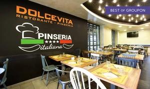 DOLCE VITA PINSERIA ITALIANA: Pinsa romana e birra per 2 o 4 persone da Dolce Vita Pinseria Italiana (sconto fino a 63%)
