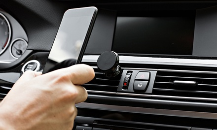 One, Two or Three Car Vent Magnetic Phone Holders in Choice of Colour