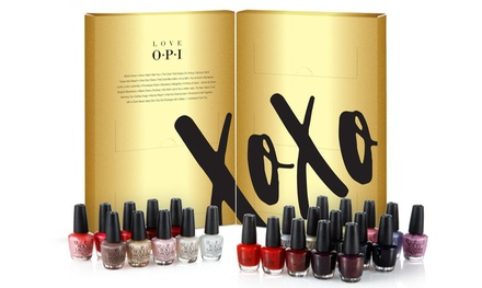 Set di 25 smalti Xoxo di Opi