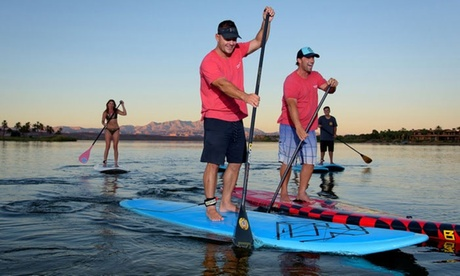 1-Hour Electric Pedal Boat Rental or 2-Hour Pedal Boat Rental at Lake Las Vegas Water Sports (Up to 45% Off) 84a86c7f-8b02-4ad8-ac3a-0e62f992412d