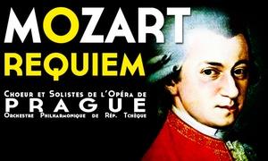 LP Organisation: 1 place en Cat 1 pour le Requiem de Mozart, date au choix, à 20 €, en tournée dans 3 villes