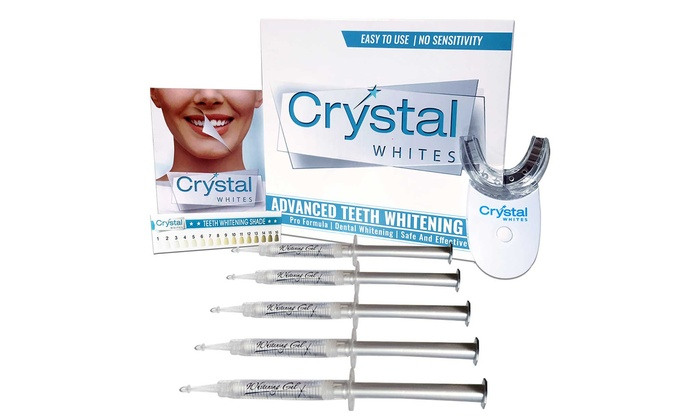The LA Smile: Crystal Whites Teeth Whitening Kits from AED 69 (Up to 88% Off)