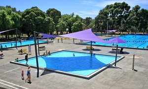 Oak Park Aquatic Centre: 20-Visit Swim Passes for One Person ($44.95) or Family ($119.95) at Oak Park Aquatic Centre, 3 Locations (Up to $222)