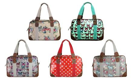Miss Lulu Oilcloth Printed Bag